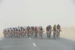 Tour-Of-Qatar-Peloton-Dusty