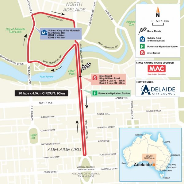 Tour Down Under 2017 - Stage 6 Preview